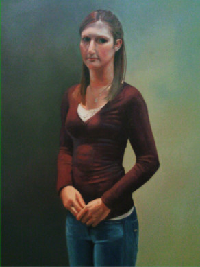 Oil Paint on Canvas. 2009