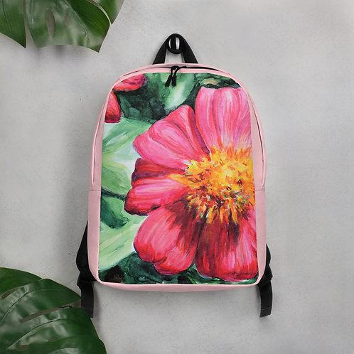 Flowers: Minimalist Backpack