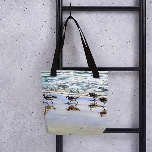 Follow the Leader: Tote bag