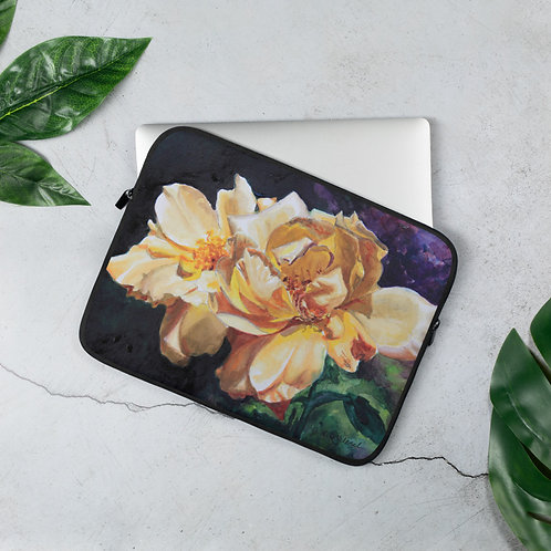 Yellow Roses: Laptop Sleeve