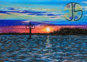 Sunset in Crisfield