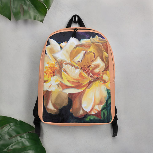 Yellow Roses2: Minimalist Backpack