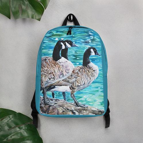 Gees Sunbathing: Minimalist Backpack