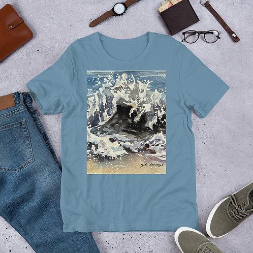 Ocean Waves: Short-Sleeve Unisex T-Shirt
