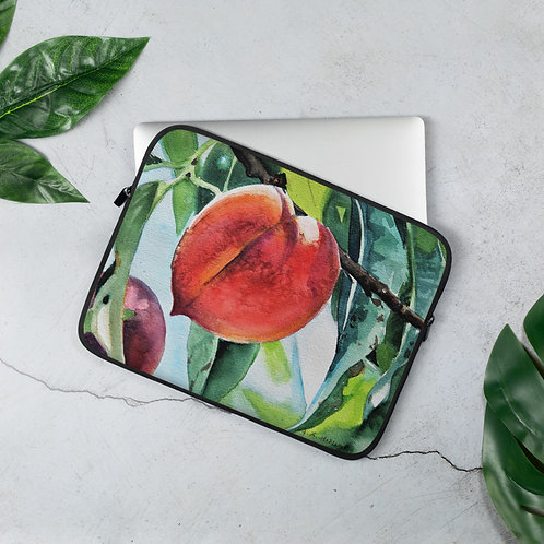 Peaches: Laptop Sleeve
