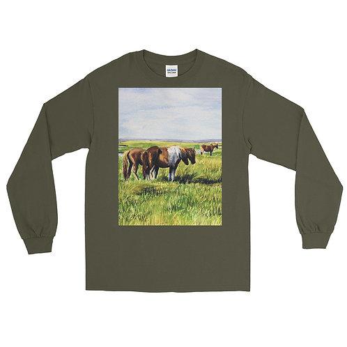 Companions: Men's Long Sleeve Shirt