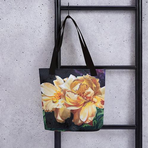 Yellow Roses: Tote bag