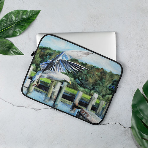 Seagull Landing: Laptop Sleeve