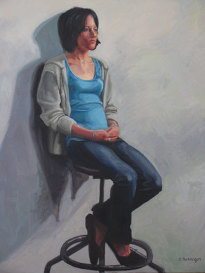 Oil Paint on Canvas 2009