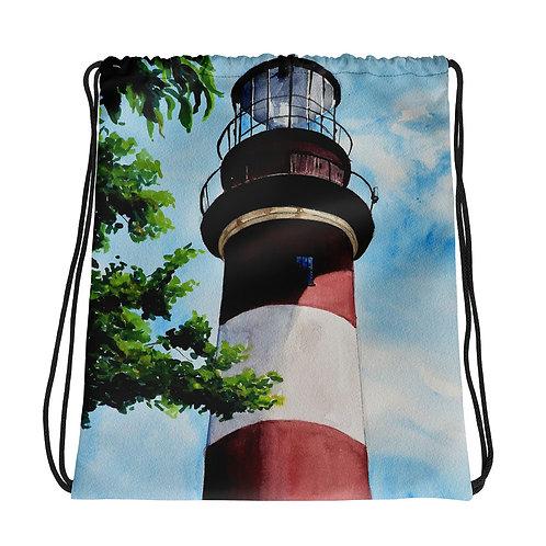 Assateague Lighthouse: Drawstring bag