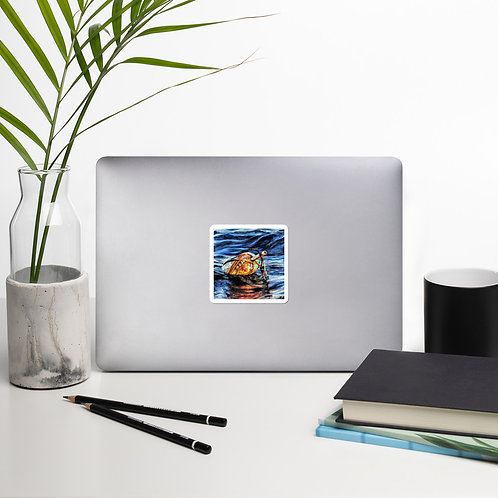 Buoy: Bubble-free stickers