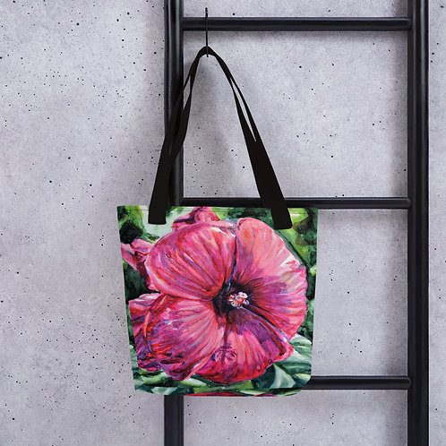 Hibiscus: Tote bag