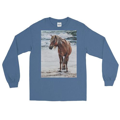 Carefree: Men's Long Sleeve Shirt