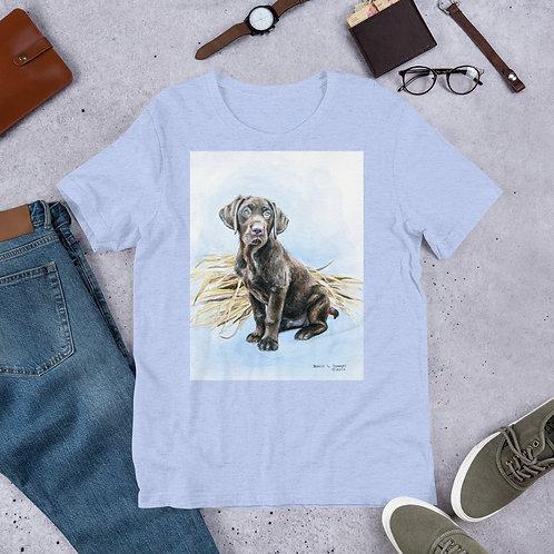 Patiently Waiting: Short-Sleeve Unisex T-Shirt