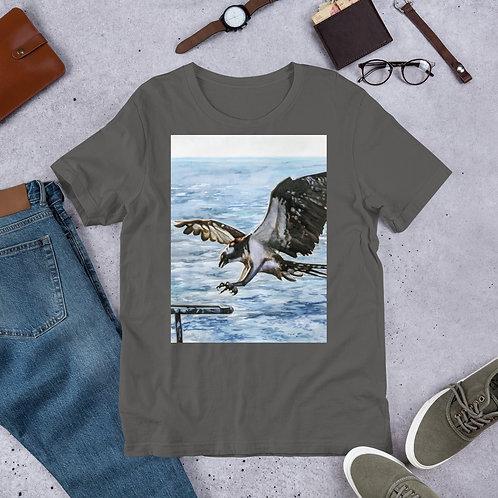 Osprey Landing: Short-Sleeve Unisex T-Shirt