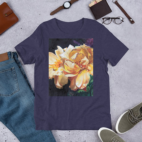 Yellow Roses: Short-Sleeve Unisex T-Shirt