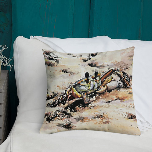 Ghost Crab: Premium Pillow