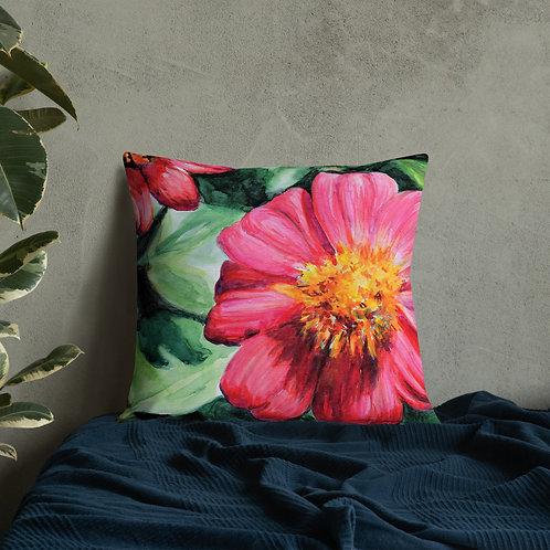 Flowers: Premium Pillow