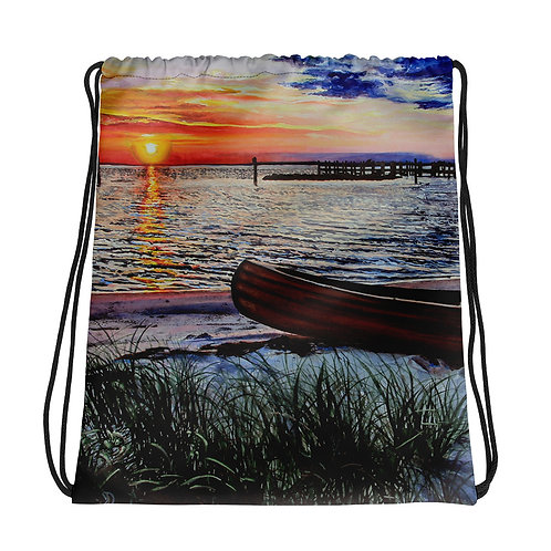 Water's Edge: Drawstring bag