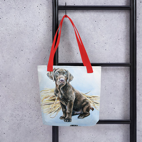 Patiently Waiting: Tote bag