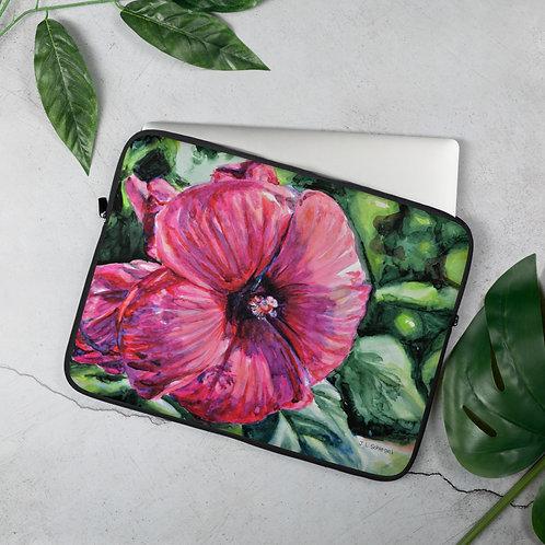 Hibiscus: Laptop Sleeve