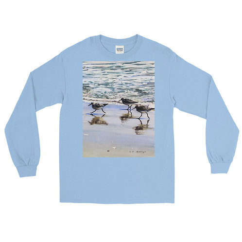 Follow the Leader: Men's Long Sleeve Shirt