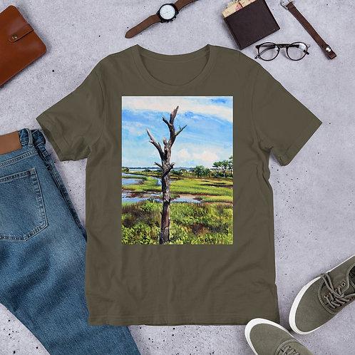 Assateague Overlook: Short-Sleeve Unisex T-Shirt