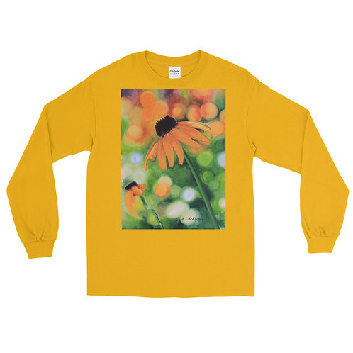 Black-Eyed Susan: Men's Long Sleeve Shirt