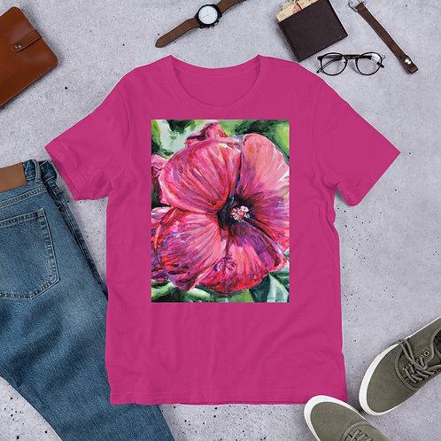 Hibiscus: Short-Sleeve Unisex T-Shirt