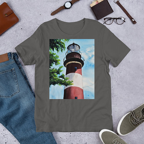 Assateague Lighthouse: Short-Sleeve Unisex T-Shirt