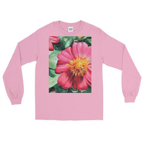 Flowers: Men's Long Sleeve Shirt