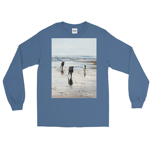 Three of a Kind: Men's Long Sleeve Shirt