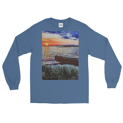 Water's Edge: Men's Long Sleeve Shirt