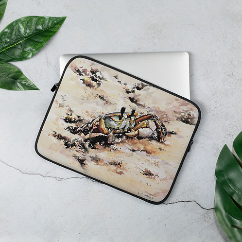 Ghost Crab: Laptop Sleeve
