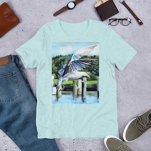 Seagull Landing: Short-Sleeve Unisex T-Shirt