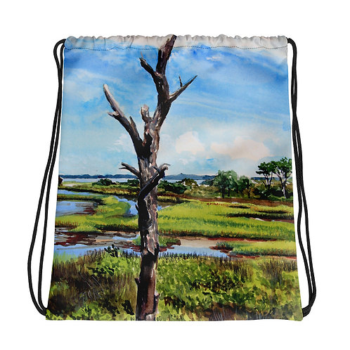 Assateague Overlook: Drawstring bag
