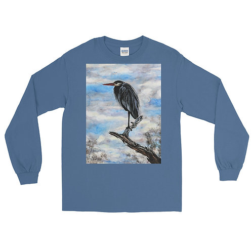 Taking in the View: Men's Long Sleeve Shirt