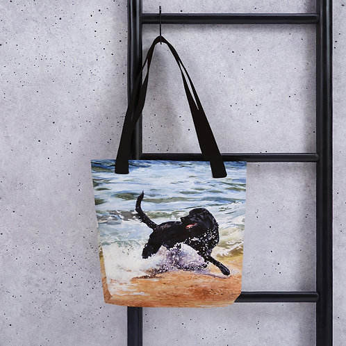 Day at the Beach: Tote bag