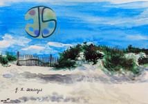 Dunes in Assateague Island