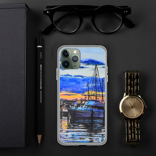 Sunset on the Marina: iPhone Case