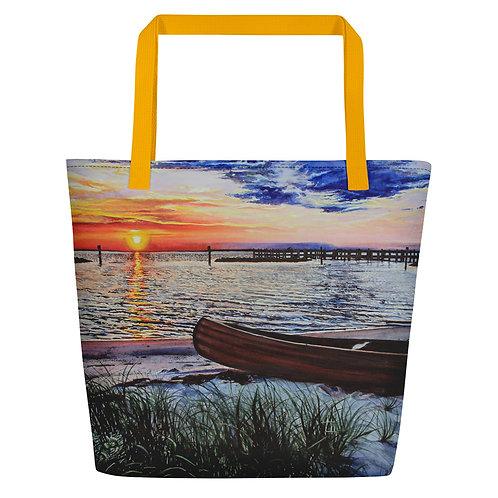 Water's Edge: Beach Bag