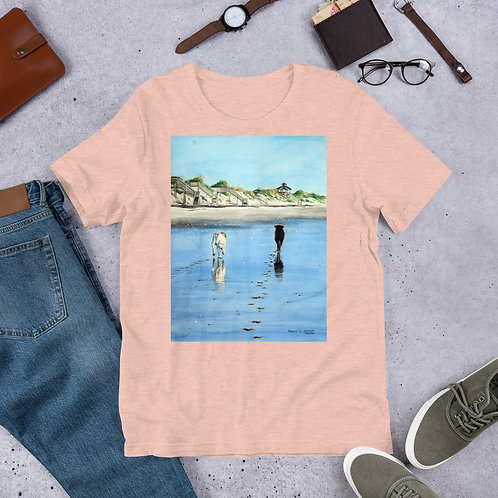 Footprints: Short-Sleeve Unisex T-Shirt
