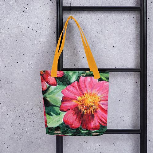 Flowers: Tote bag