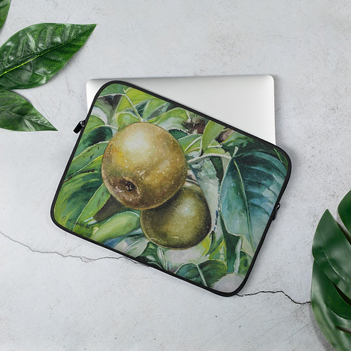 Pair of Apples: Laptop Sleeve