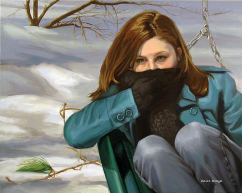 Oil Paint on Canvas. 2010