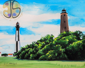 Cape Henry Lighthouses, VA