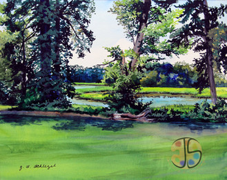 Plein Air Painting- Bordeleau Winery, Eden, MD
