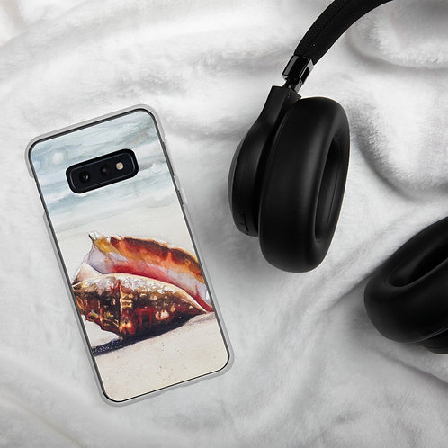 Conch Shell on the Beach: Samsung Case