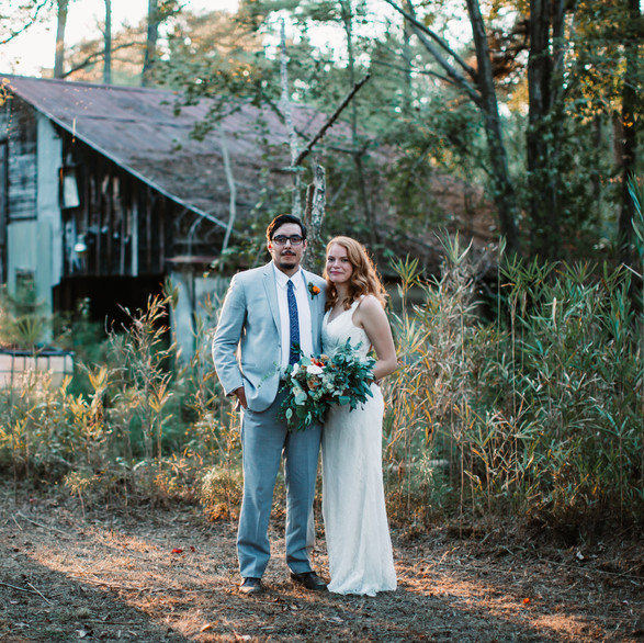Rustic Home Wedding