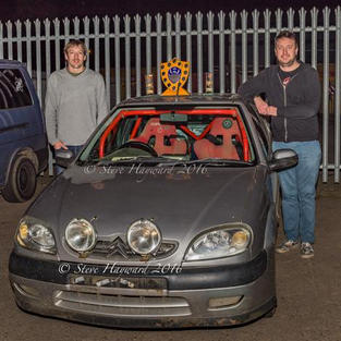 Overall Winners - Tim Owen & Jake Ramsden